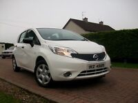 Sep 2014 Nissan Note VISIA *ONE LADY OWNER*IMMACULATE*£20 TAX!!