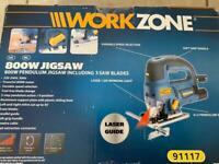 Workzone 800w Pendulam Jigsaw