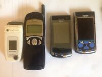 4 x MOBILE PHONES SPARES OR REPAIR