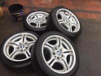 Bmw R17 style 68 alloy wheels
