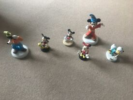 Various Disney ornaments