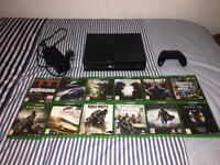Xbox one + 12 games