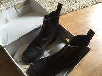 Horse riding boots ankle style size 4