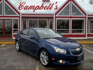 2012 Chevrolet Cruze LTZ TURBO!! RARE HEATED LEATHER!! SUNROOF!!