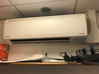 Daikin wall mounted and casette air con units