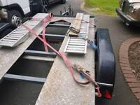 For sale car transporter trailer