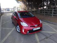 Toyota Prius T4 VVT-I 5dr (red) 2014