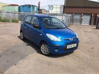 Hyundai i10 1.1 petrol, 2008, road tax 30£