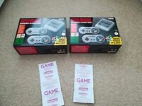 For Sale. 2 New Nintendo Classic