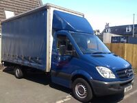Available now! Check video! Mercedes Sprinter 313CDI LWB Curtain Sider Luton, MOT, service history