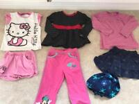 Girls Clothes bundle age 2-3years