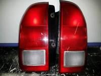 Suzuki Grand Vitara rear lights. (Pair)