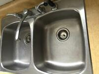 Sink and taps used $80