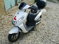 peugeot kisbee 100cc 2014