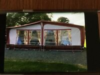 sunncamp full awning for twin axle caravan