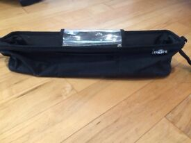 Buggy organiser/storage bag for double buggy