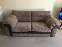 2 x 2018 DFS Large 2 Seater Sofas