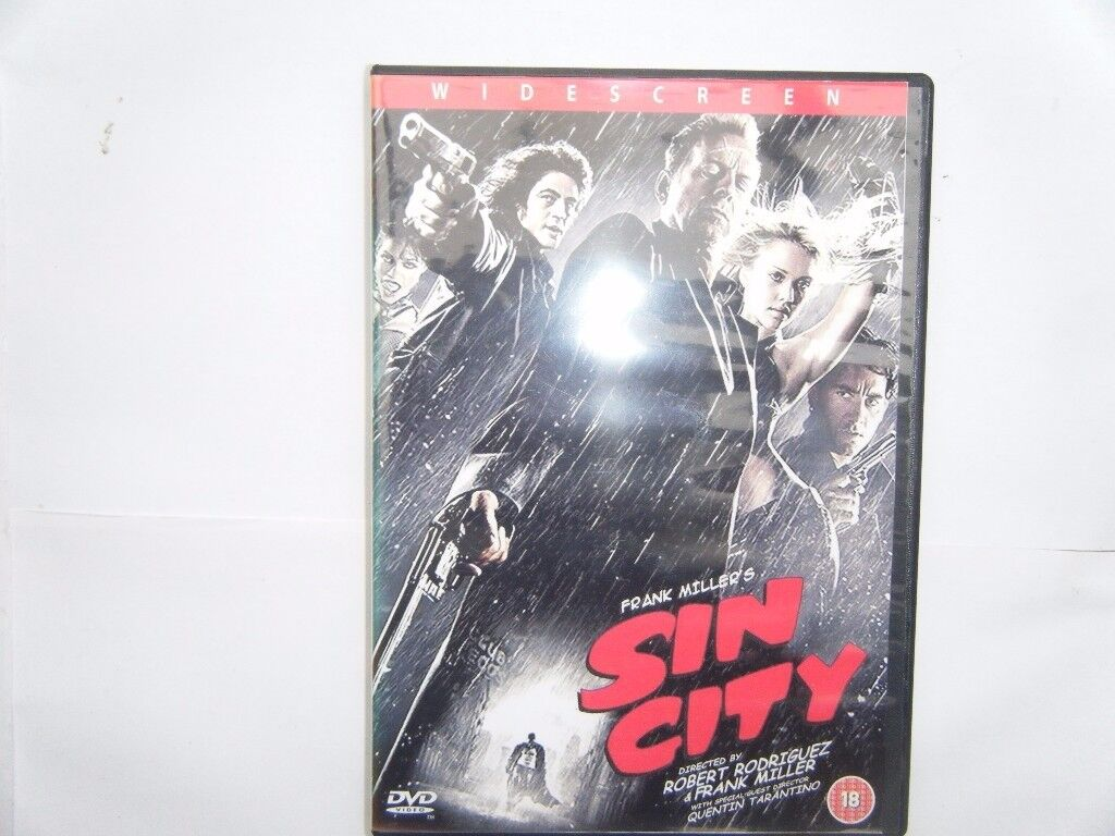 Sin City, DVD. Used