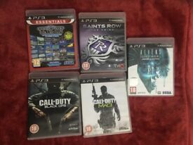 PLAY STATION PS3 GAMES