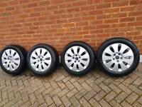 16 inch Audi alloy wheels