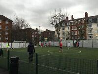 5-a-side Sunday 3G football league in Islington