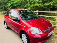 TOYOTA YARIS 2003 1.0L 72000 MILES MOT TILL JULY 2019 CHEAP TO INSURE IDEAL FIRST CAR