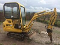 Mini digger, fencing, foundations , groundwork's