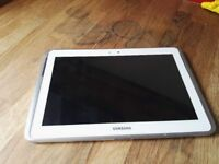 Samsung GALAXY Note 10.1 with protective cover