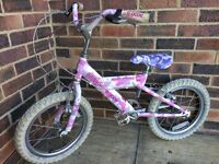 Girl's bike for 3-7 years old