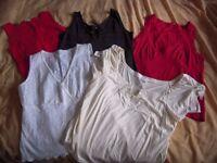 5 Women's dressy tops size 18