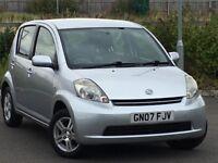 2007 Daihatsu Sirion 1.3 SE Automatic *Low Mileage*Long MOT*FSH*