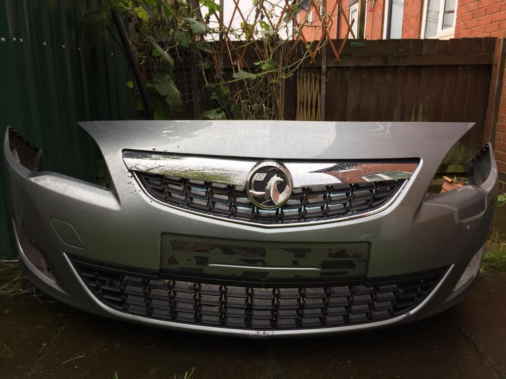 Vauxhall Astra Complete Bumper 2013