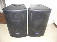 Mackie SA1521 Powered PA Speakers Very Good Condition - Try before buy welcomed