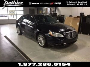 2014 Chrysler 200 Limited | EXTENDED WARRANTY | LEATHER | HEATED