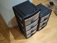 x2 Plastic drawers pickup from Sheffield city centre
