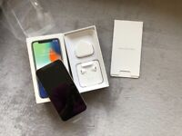 iPhone X - 64GB - Silver (O2) New never used