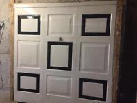 Garage Door 7ft, comes with frame