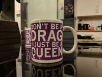 don't be a drag just be a queen dragrace ru paul mug christmas