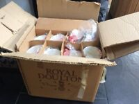 ROYAL DOULTON BONE CHINA UNUSED DINNER SERVICE still in box & wrapping