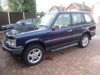 2001 RANGE ROVER 2.5 DHSE P38