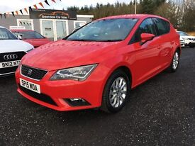 2015 SEAT Leon 1.2 TSI, Technology Pack, 12 MONTHS WARRANTY, Finance Available