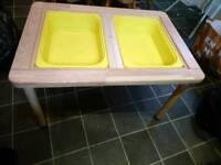 Ikea storage table toys