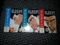 Old Boy Manga Book Bundle x3 Volumes 1 2 7 Very Rare Now & Good Condition
