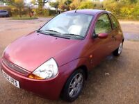 Ford KA 2002 - original design. Super low mileage!
