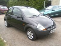 FORD KA 1-3 STUDIO 2008 (58 PLATE). 62,000 MILES, 12 MONTHS MOT ON PURCHASE.