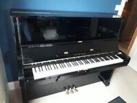 Yamaha U2 Upright (Silent) Piano - Gloss Black