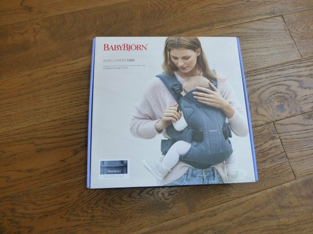 c35b3f95a6e Brand new Baby Bjorn Baby Carrier One in Midnight Blue  classic Denim  Suitable from Birth