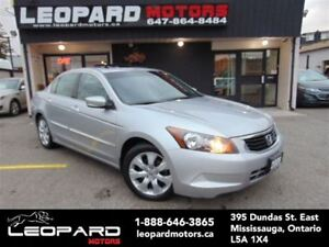 2009 Honda Accord EX-L,Leather,Sunroof,Heated Seats*No Accident*