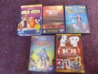 Bulk job lot collection of Walt Disney DVDs