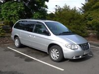 DIESEL Chrysler Grand Voyager 2.8 STOW 'N' GO 2006 Fuel Efficient Leather Full Electric 1 year MOT